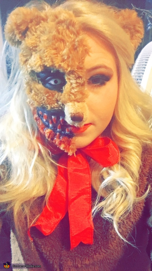 Scary Teddy Costume
