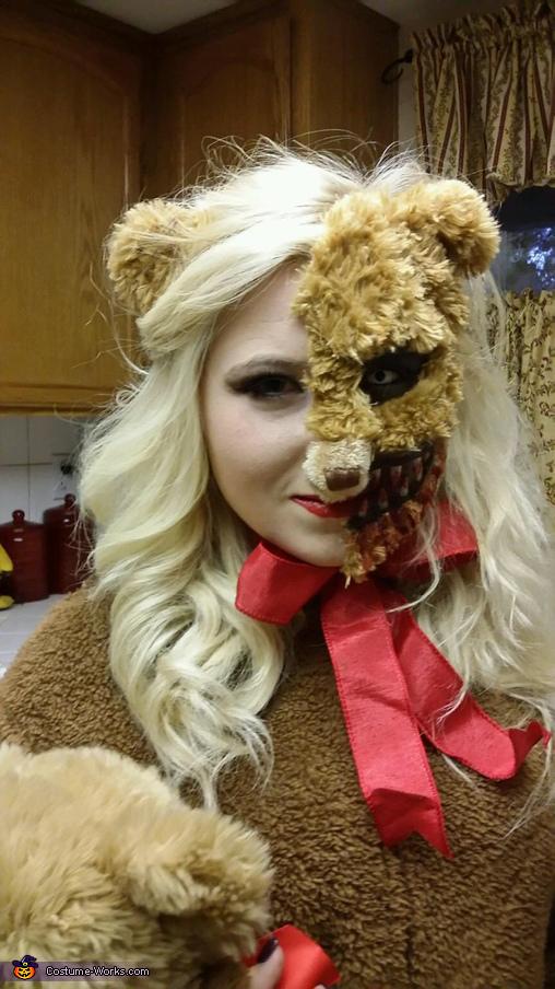 Scary teddy (face#2), Scary Teddy Costume