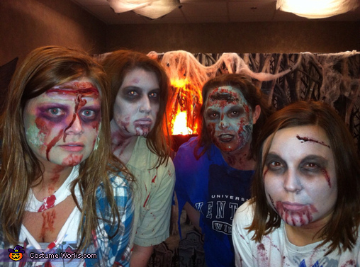 Scary Zombie Costume