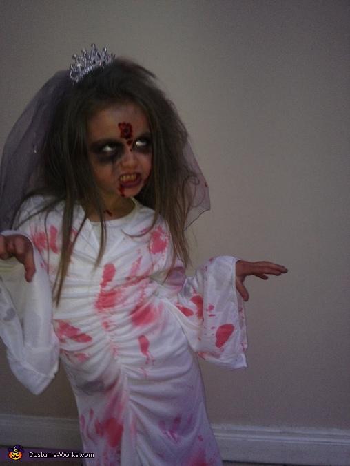 Zombie bride, Scary Zombie Bride Costume