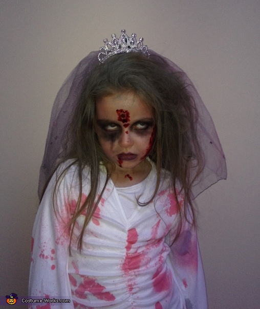 My scary zombie bride, Scary Zombie Bride Costume