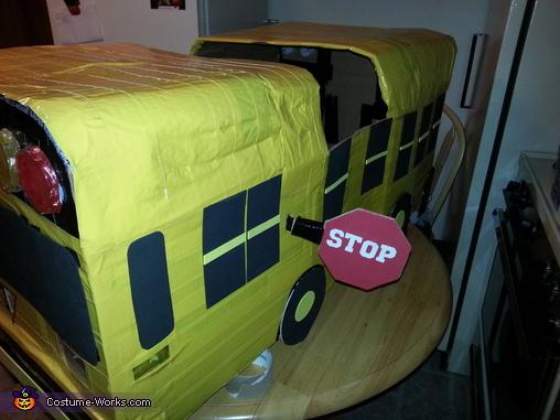 DIY School Bus Costume