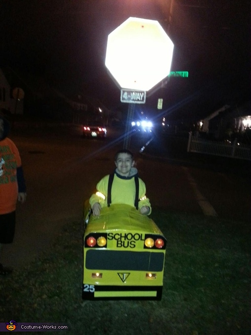 DIY School Bus Costume