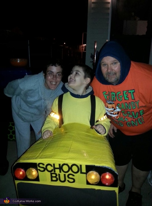 School Bus Costume