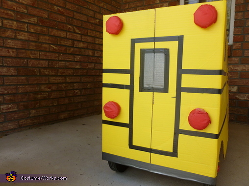 School Bus Homemade Costume