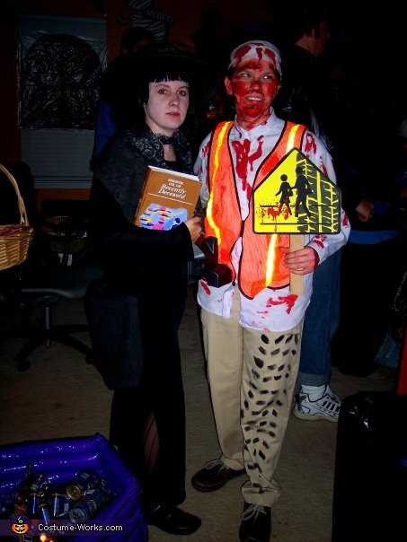 School Crossing Guard Victim - Homemade costumes for adults