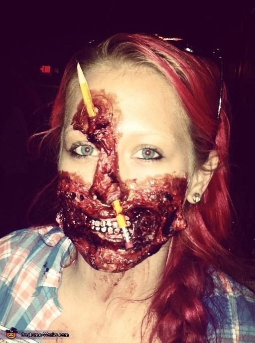 My head hurts !!, School Teacher Zombie Costume