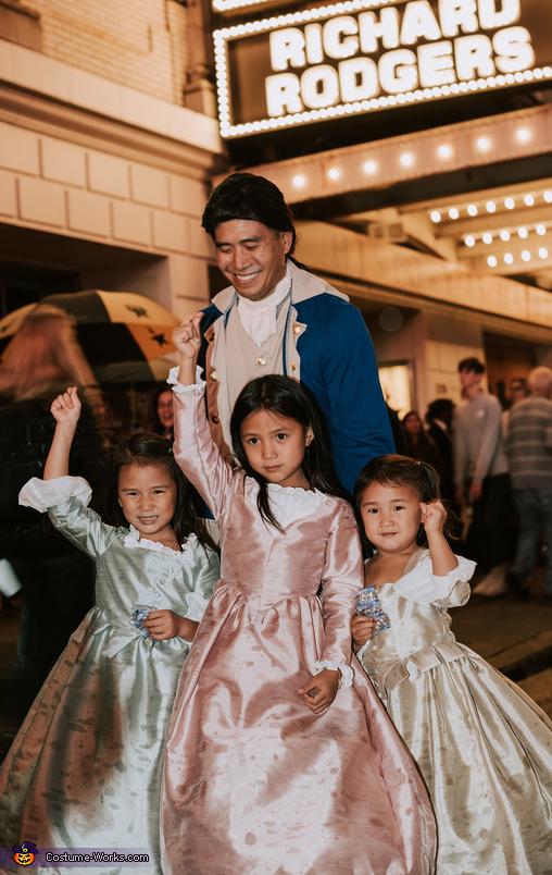 Schuyler Sisters 2019 Costume