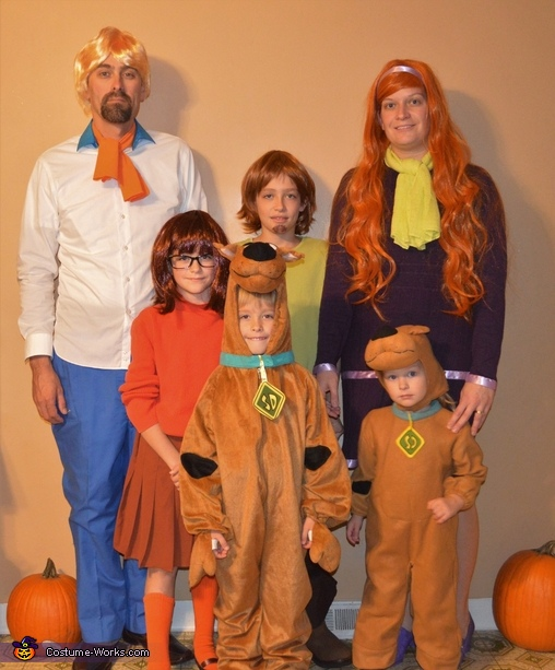 Scooby-Doo and Scrappy-Doo Costume
