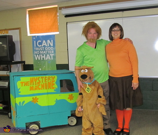 Scooby-Doo and the Gang Family Costume