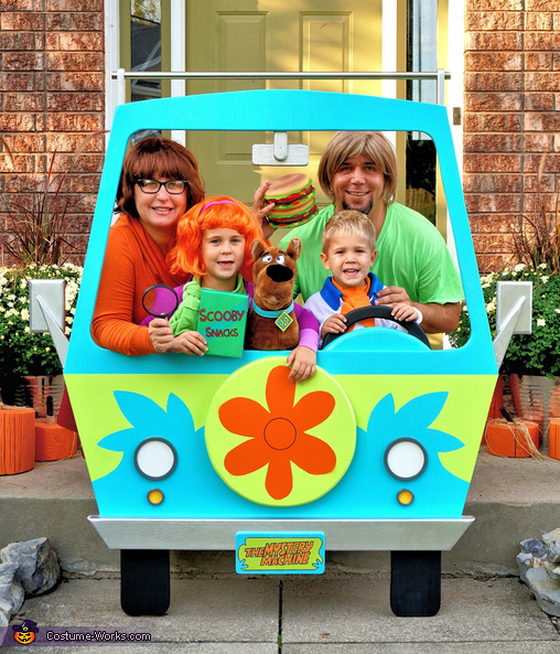 Scooby-Doo! Family Costume