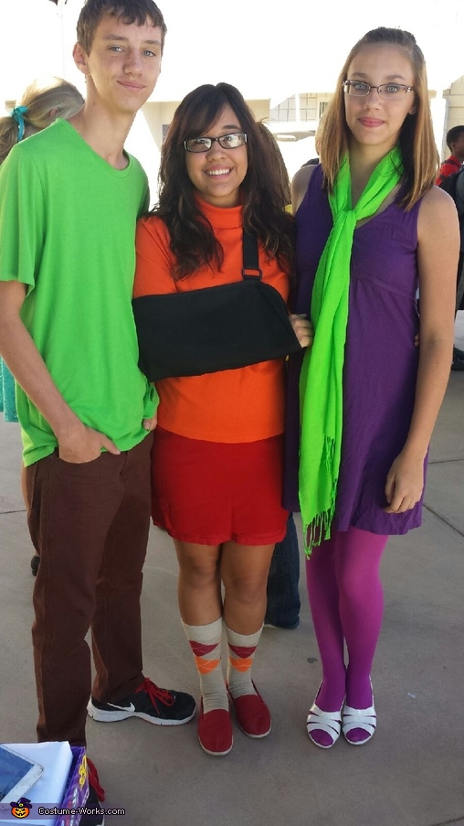 Shaggy, Vuelma, Daphne, Scooby-Doo Gang Costume