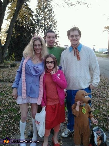 Scooby Doo and the Gang Family Costume