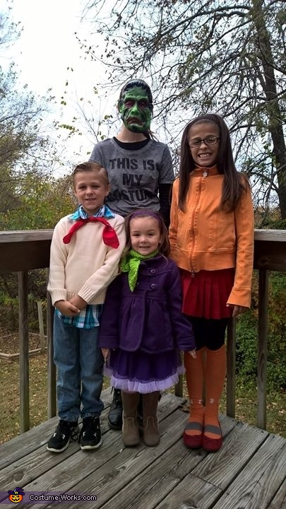 Scooby Doo Clan Costume