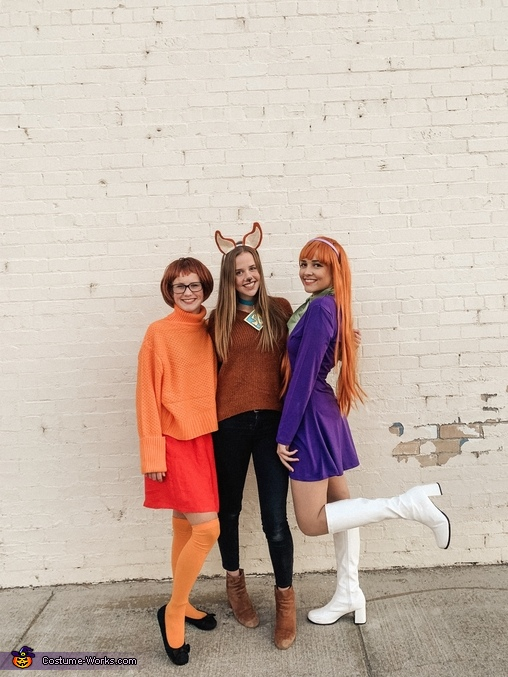 The girls!, Scooby Doo Crew Costume