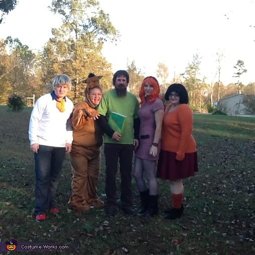 Scooby Doo Gang Homemade Costume