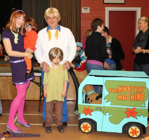 Scooby Doo Gang Family Costume
