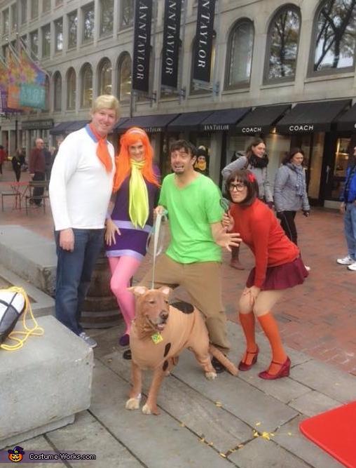 Scooby Doo Gang Costume