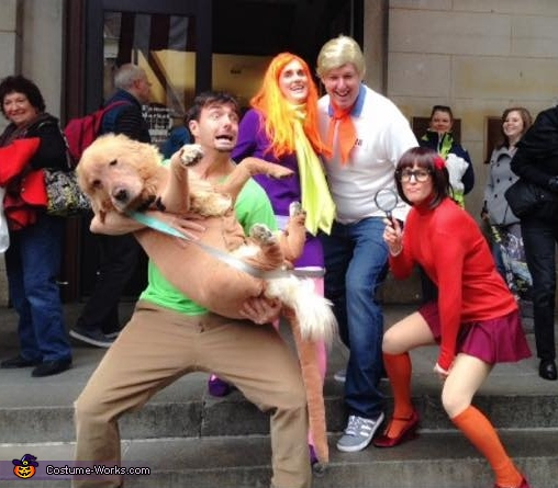Zoinks!!!!, Scooby Doo Gang Costume