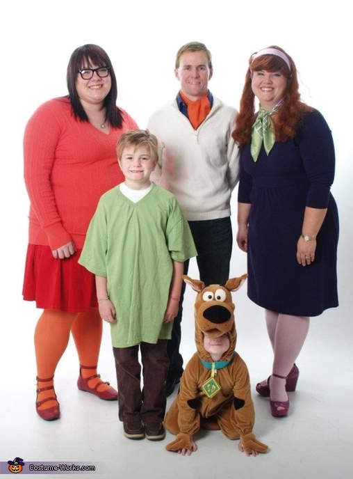 Scooby Gang Family Costume