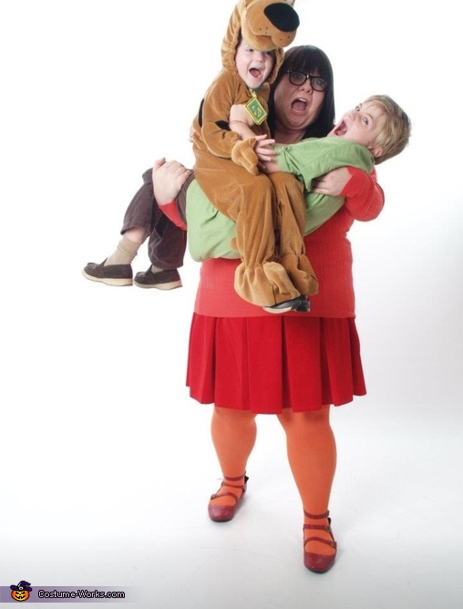 Scooby Gang Homemade Costume