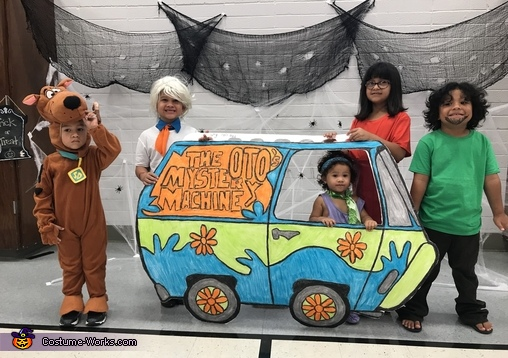 Scooby Siblings Costume