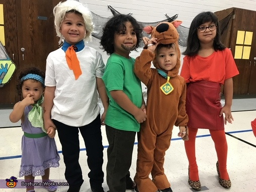 The Scooby gang, Scooby Siblings Costume