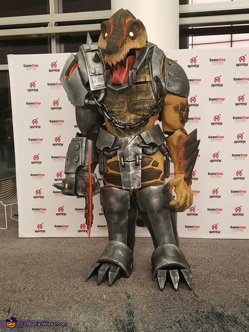 Scorched Earth Renekton Homemade Costume