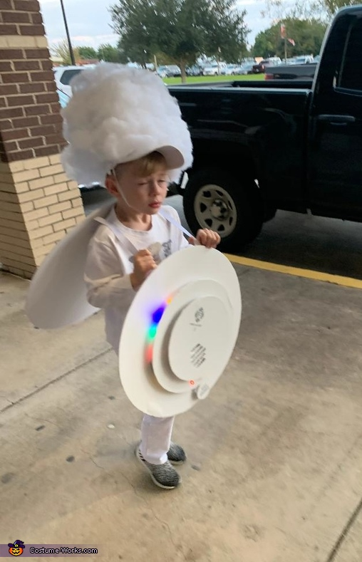 Scorched Smoke Detector Costume