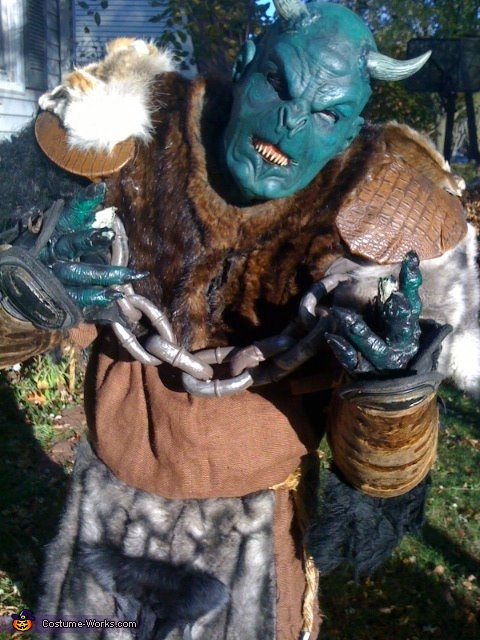 Scorching Anguish the Troll Costume