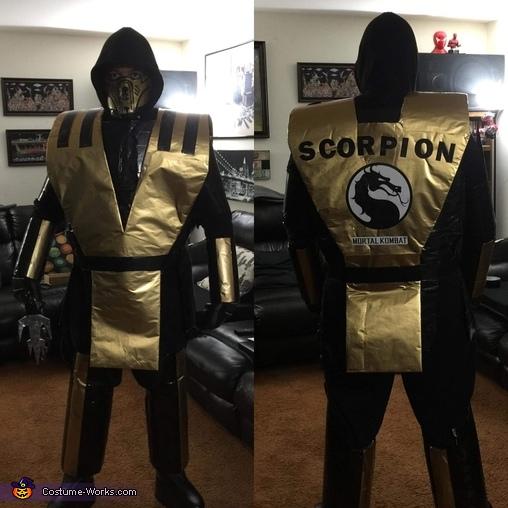 Scorpion 2020 Costume
