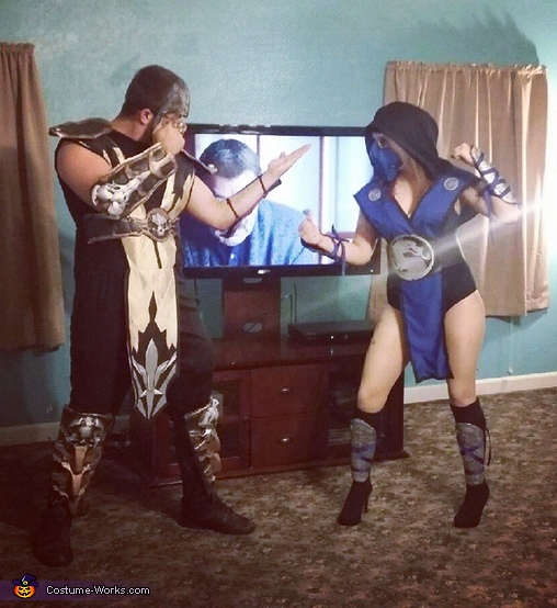 Scorpion and Sub-Zero Costume