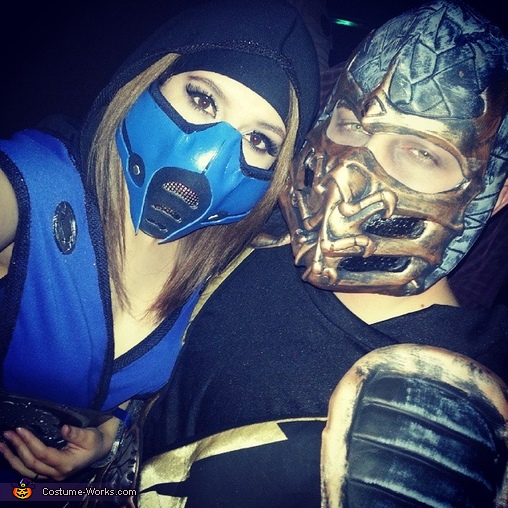 Scorpion and Sub-Zero Costumes