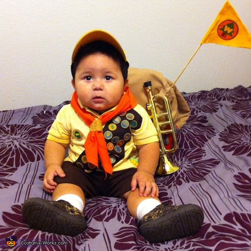 Up Scout Russell Baby Costume