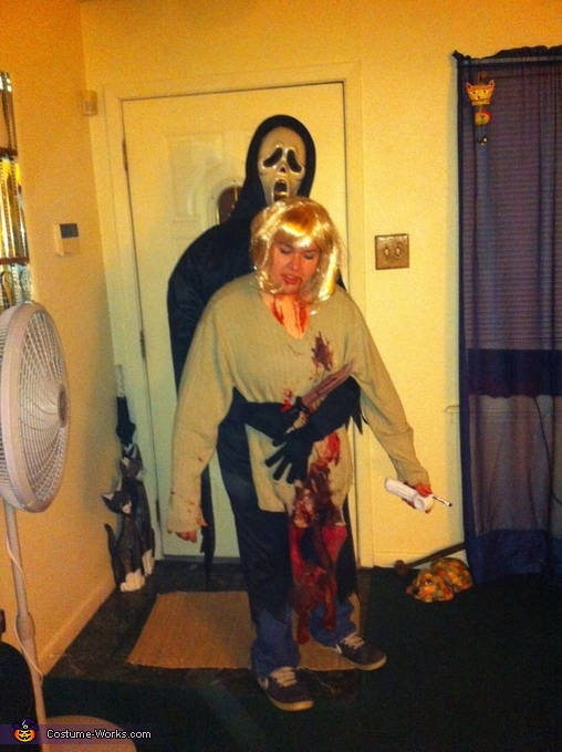 """Scream"" themed Illusion Costume"