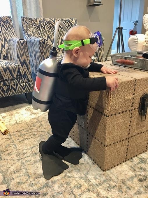 Scuba Baby Costume