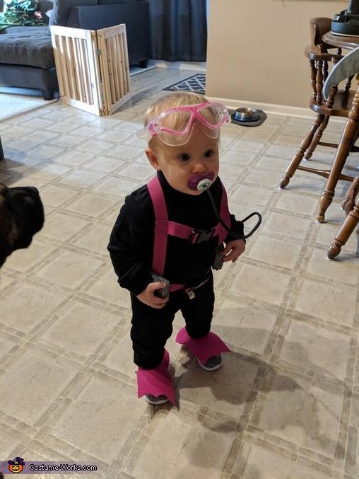 Scuba Diver Homemade Costume