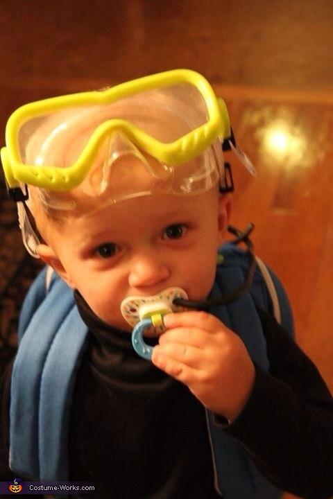 Binky Regulator, Scuba Divers Costume