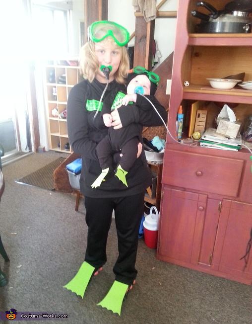 scuba divers, Scuba Divers Costume