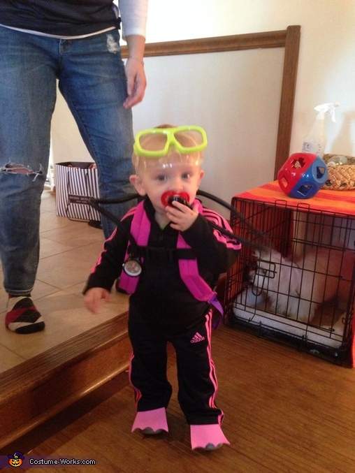 Regulator, Scuba Girl Baby Costume
