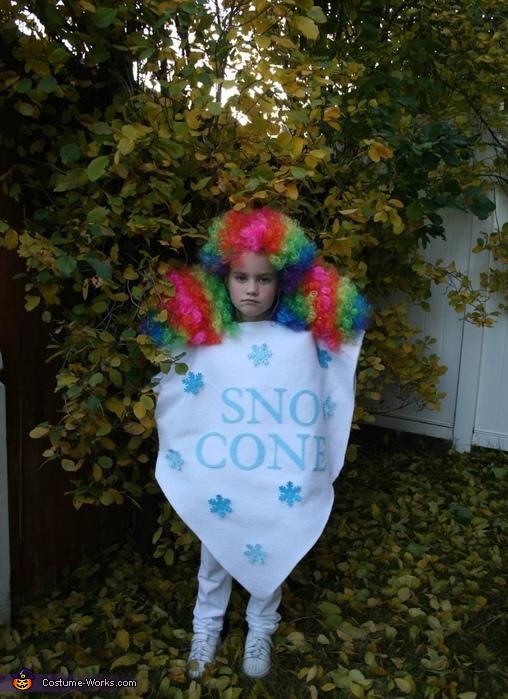 Sno Cone, Sea Anemone Costume