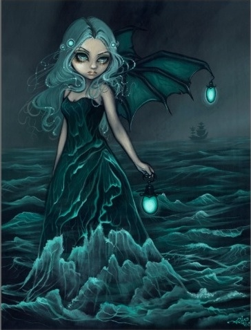 Sea Beacon by fantasy artist Jasmine Becket-Griffith, Sea Beacon Costume