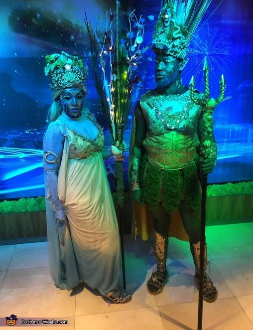 Sea King & Queen Costume