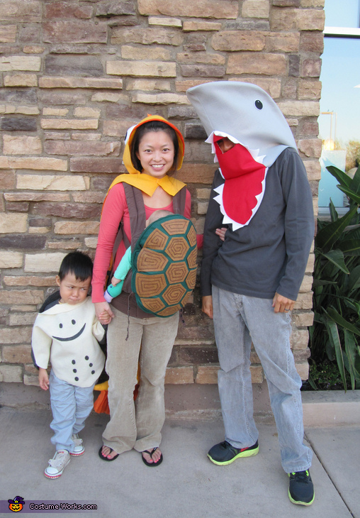 Sea Life Family Costume