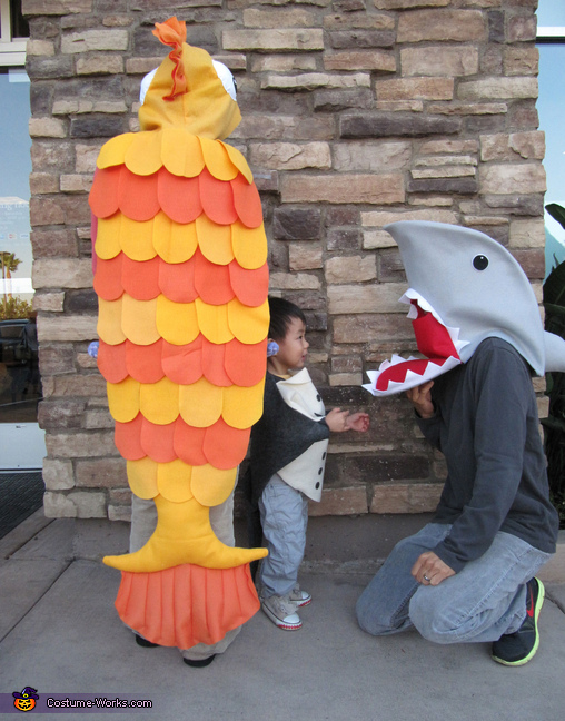 Sea Life Themed Costumes, Sea Life Family Costume