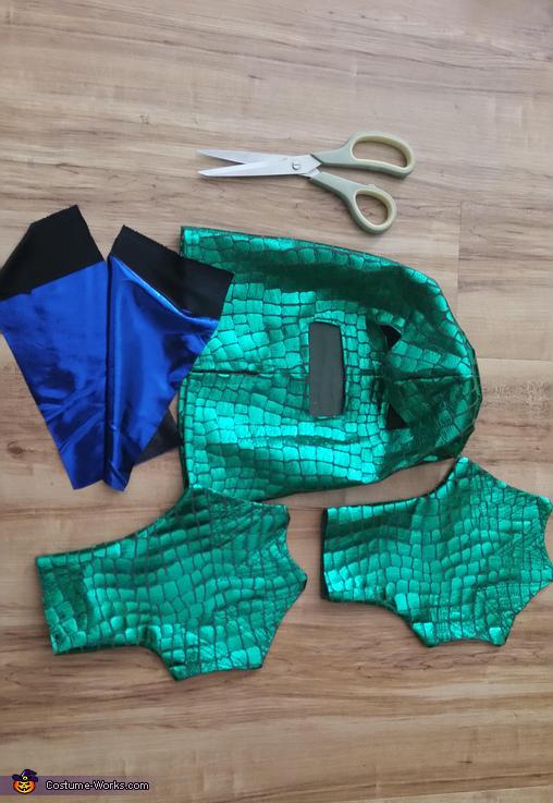 Sea Monster Homemade Costume