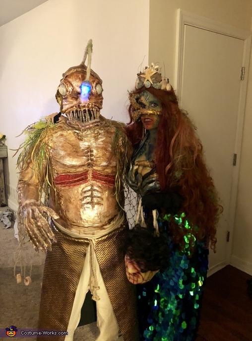 Sea Monster Couple Costume