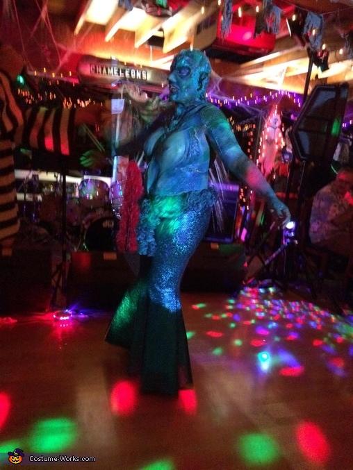 final costume, Sea Siren Costume