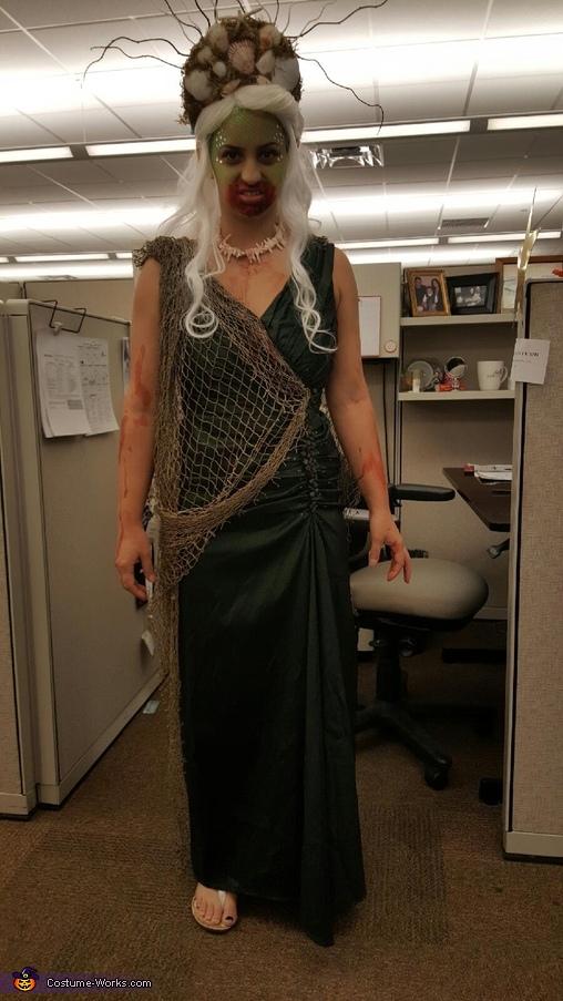 Sea Siren from Greek Mythology Homemade Costume
