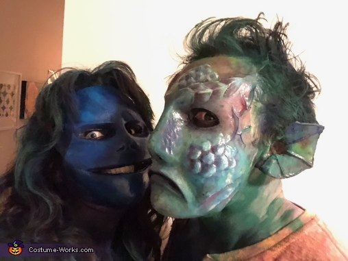 Sea Siren & Sailor Victim Homemade Costume